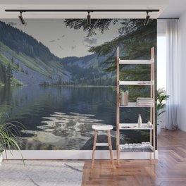 Cool Aqua Lake Wall Mural