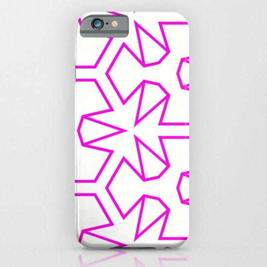 Van Zwaben Pink Neon Pattern iPhone & iPod Case