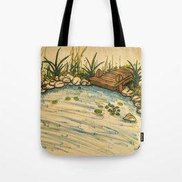 The Eternal Pond Tote Bag