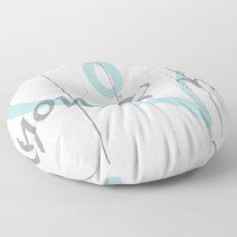 You & Me Floor Pillow