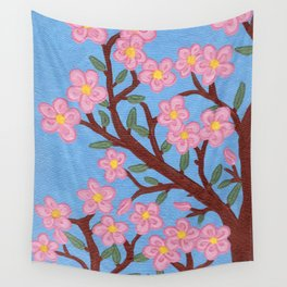 Large Cherry Tree 1a Wall Tapestry
