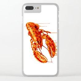 Crawfish Clear iPhone Case