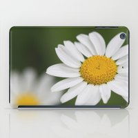daisy iPad Cases featuring daisy by Hannah