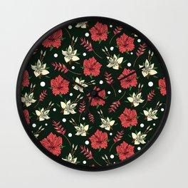 Tropical Vibe Wall Clock