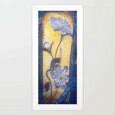 Hepatica Art Print