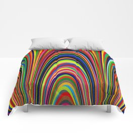 Colorful Arches Comforters
