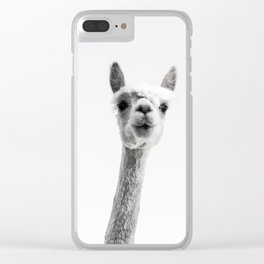 alpaca #society6 #decor #buyart Clear iPhone Case