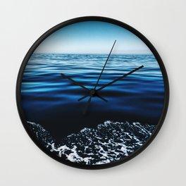 Big Blue Sea Wall Clock