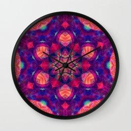 Mandala 36 Wall Clock