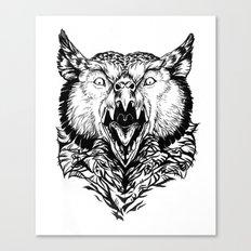 Beware the Owlbear Canvas Print