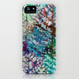 Colorful leaves II iPhone Case