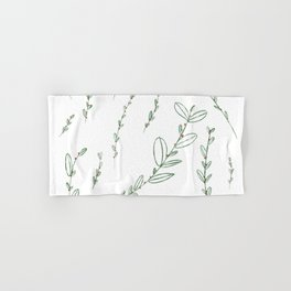 Mistletoe Winter Berry Hand & Bath Towel