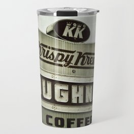 Doughnuts and Coffee Travel Mug