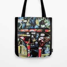 Boba Fett Collage Tote Bag