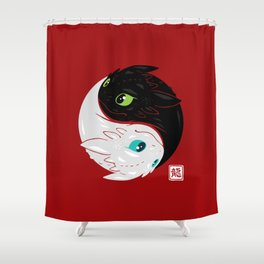 The Furyism Shower Curtain
