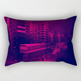 osaka pixel art Rectangular Pillow