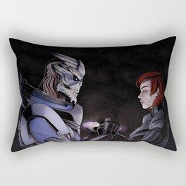 We're safe, Jane Rectangular Pillow