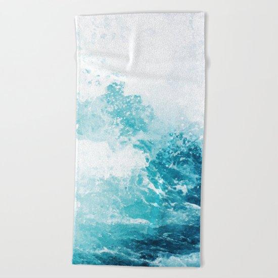 Water Water #society6 #decor #buyart Beach Towel
