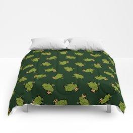 Frog Prince Pattern Comforters