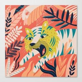 Tiger grrrrr Canvas Print