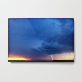 Sunset 032117 Tye, Texas Metal Print