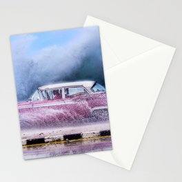 Waves and Classic Cars of the Malecón - 9 Stationery Cards