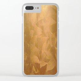 Beautiful Copper Metal - Corporate Art - Hospitality Art - Modern Art Clear iPhone Case
