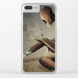 The Disintegration of God Clear iPhone Case