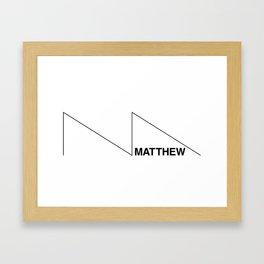 The Matthew Framed Art Print