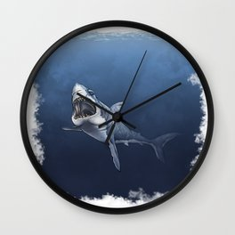 SHARK, Great white Wall Clock