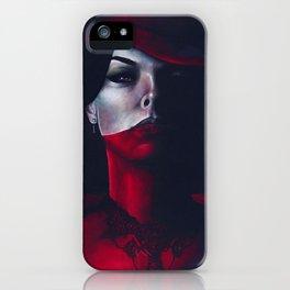Miss Scarlet iPhone Case