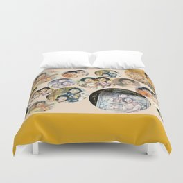Beijing 6576 Asian vintage atmosphere with women Duvet Cover