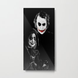 joker herley horror Metal Print
