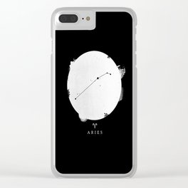 Aries II Clear iPhone Case