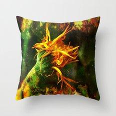 Burning Sensation Throw Pillow