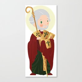 St. Nicholas of Myra Canvas Print