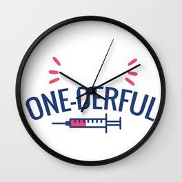Type One-Derful Wall Clock