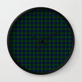 Urquhart Tartan Wall Clock