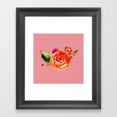 Flowers III Framed Art Print