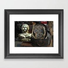 C-3PO meet Moose Framed Art Print