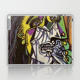 THE WEEPING WOMAN - PICASSO Laptop & iPad Skin