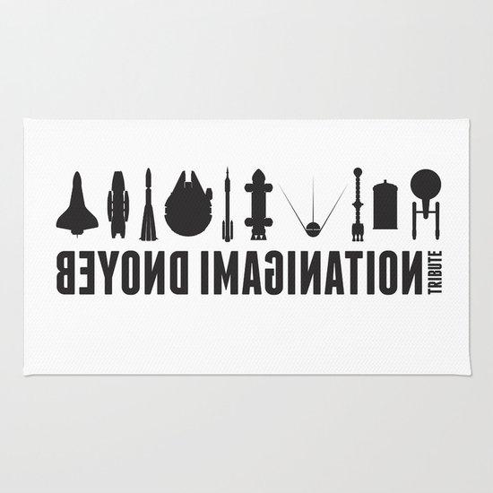 Stamp Rug beyond imagination: battlestar galactica postage stamp rug