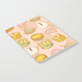 Dimsum everywhere! [peach] Notebook