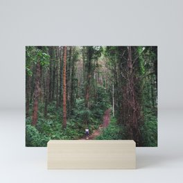 Lost in the woods Mini Art Print