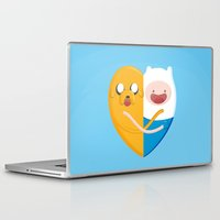 best friends Laptop & iPad Skins featuring Best friends  by Manfred Maroto