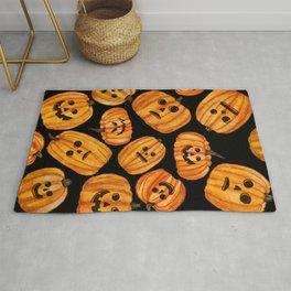 Creepy Pumpkins Rug
