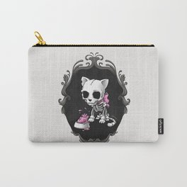 Bone Kitty Carry-All Pouch