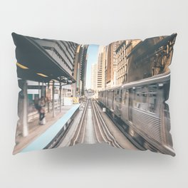 Railway station Pillow Sham
