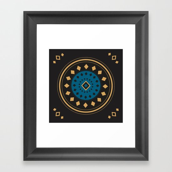 What goes around comes back around Framed Art Print