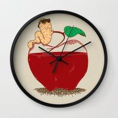 Apple Juice Wall Clock
